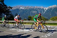 Picture by Alex Whitehead/SWpix.com - 28/09/2018 - Cycling - UCI 2018 Road World Championships - Innsbruck-Tirol, Austria - U23 Men's Road Race - Conn Mcdunphy of Ireland.