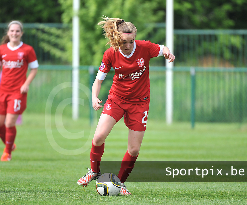 RSC Anderlecht Dames - FC Twente : Jill Jamie Roord.foto DAVID CATRY / Nikonpro.be