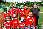 The St brendan's Park team that competed in the football for all blitz in Killarney Celtic on Saturday
