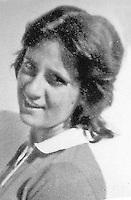 Napoli ottobre 1975 strage di via caravaggio , un intera famiglia viene trovata morta nella propria abitazione <br /> le vittime domenico Santangelo , la moglie gemma e la figlia Angela vengono trovati sgozzati <br /> nella foto Angela Santangelo