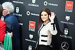 MADRID, SPAIN - JANUARY 16: Penelope Cruz and Pedro Almodovar attend Feroz awards 2020 red carpet at Teatro Auditorio Ciudad de Alcobendas on January 16, 2020 in Madrid, Spain.<br /> (David Jar / Alterphotos)