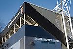 Sir Alf Ramsey stand, Ipswich Town Football club stadium, Portman Road, Ipswich, Suffolk, England