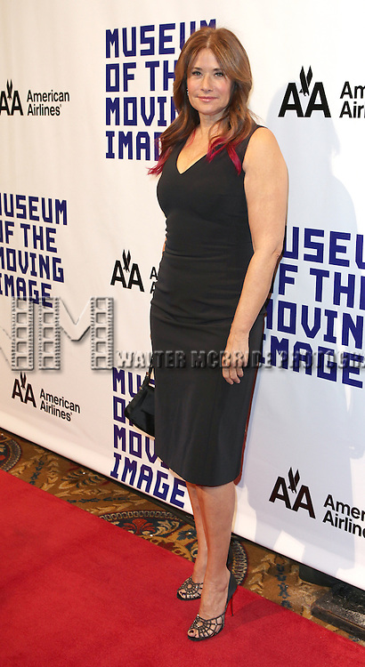 Lorraine Bracco attending The Museum of Moving Image salutes Hugh Jackman at Cipriani Wall Street in New York on December 11, 2012