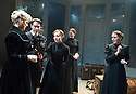 A Little Night Music,Music and Lyrics by Stephen Sondheim,Book by Hugh Wheeler, directed by Trevor Nunn. With Hannah Waddingham as Desire [L] .Opens at The Mernier Chocolate Factory Theatre on 3/12/08. CREDIT Geraint Lewis