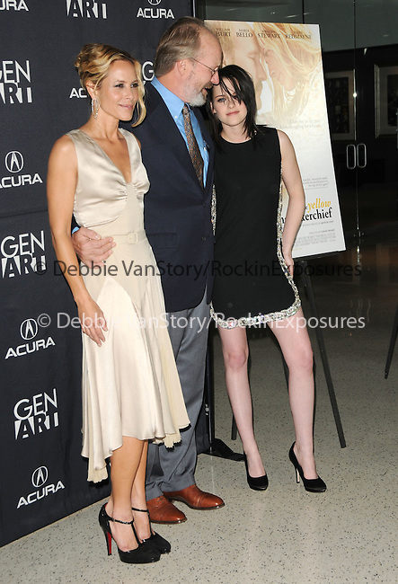 Maria Bello,William Hurt & Kristen Stewart at the Samuel Goldwyn Films' L.A. Premiere of The Yellow Handkerchief held at The Pacific Design Center in West Hollywood, California on February 18,2010                                                                   Copyright 2009  DVS / RockinExposures