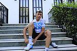 David De La Cruz (ESP) Team Sky gets ready for a morning training ride before Stage 1 of the La Vuelta 2018, an individual time trial of 8km running around Malaga city centre. Mijas, Spain. 23rd August 2018.<br /> Picture: Eoin Clarke | Cyclefile<br /> <br /> <br /> All photos usage must carry mandatory copyright credit (&copy; Cyclefile | Eoin Clarke)