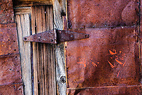Door and Tin Wall, Bodie State Park, California