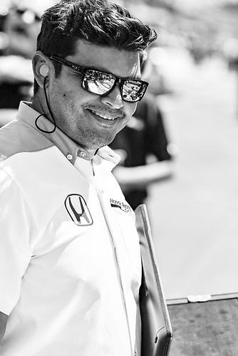 Verizon IndyCar Series<br /> Indianapolis 500 Carb Day<br /> Indianapolis Motor Speedway, Indianapolis, IN USA<br /> Friday 26 May 2017<br /> Honda engineer<br /> World Copyright: Scott R LePage<br /> LAT Images<br /> ref: Digital Image lepage-170526-indy-9511