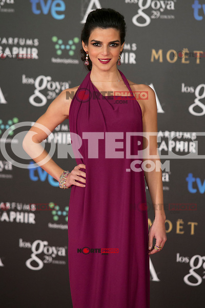 Clara Lago attend the 2015 Goya Awards at Auditorium Hotel, Madrid,  Spain. February 07, 2015.(ALTERPHOTOS/)Carlos Dafonte) /NORTEphoto.com