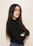 """Isabelle Fuhrman in rehearsal with Red Bull Theater's All-Female """"MACBETH"""" at the Vineyard Theatre Rehearsal Studios on April 12, 2019 in New York City."""