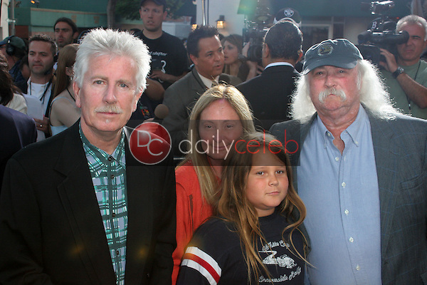 "Graham Nash and David Crosby<br /> at the ""Star Wars: Revenge Of The Sith"" Los Angeles Premiere, Mann Village, Westwod, CA 05-12-05<br /> David Edwards/DailyCeleb.Com 818-249-4998"