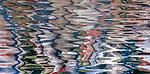 USA, Alaska, Glacier Bay National Park , water reflection abstract