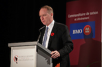 November 8, 2012 - Montreal, Quebec, CANADA  - William Downe, President and CEO, BMO Financial group