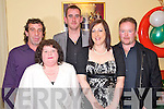 Pictured at the Cromane Rowing Club social in The Manor Inn, Killorglin on Saturday night were Jerry Brennan, Rose Brennan, Dan O'Sullivan, Susan Griffin and Mike Griffin.