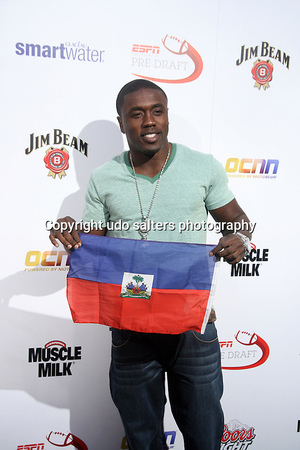 Welterweight Boxer Alberto Berto attends ESPN The Magazine Hosts the Seventh-Annual Pre-Draft Party at Espace, New York,