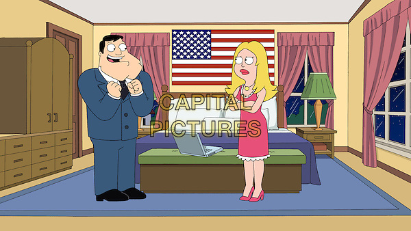 American Dad! (2005 - )<br /> (Season 7)<br /> Francine (Wendy Schaal) goes through an identity crisis when she receives unexpected news that could change the family forever; The Unbrave One, episode<br /> *Filmstill - Editorial Use Only*<br /> CAP/KFS<br /> Image supplied by Capital Pictures