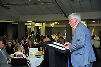 Bob Francischairs the Little Talks function at Solway Copthorne Hotel in Masterton, New Zealand on Thursday, 27 July 2017. Photo: Dave Lintott / lintottphoto.co.nz