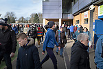 Ipswich Town 0, Oxford United 1, 22/02/2020. Portman Road, SkyBet League One. Home fans making their way into the stadium before Ipswich Town play Oxford United in a SkyBet League One fixture at Portman Road. Both teams were in contention for promotion as the season entered its final months. The visitors won the match 1-0 through a 44th-minute Matty Taylor goal, watched by a crowd of 19,363. Photo by Colin McPherson.