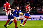 Angel Correa of Atletico de Madrid (R) in action during the La Liga 2018-19 match between Atletico de Madrid and Athletic de Bilbao at Wanda Metropolitano, on November 10 2018 in Madrid, Spain. Photo by Diego Gouto / Power Sport Images