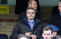 Bristol Rovers Owner & President Mr Wael Al Qadi (Jordanian Qadi Family) during the Sky Bet League 2 match between Wycombe Wanderers and Bristol Rovers at Adams Park, High Wycombe, England on 27 February 2016. Photo by Andy Rowland.