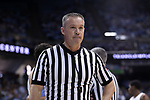 CHAPEL HILL, NC - DECEMBER 30: Referee Ron Groover. The University of North Carolina Tar Heels hosted the Wake Forest University Demon Deacons on December 30, 2017 at Dean E. Smith Center in Chapel Hill, NC in a Division I men's college basketball game. UNC won the game 73-69.