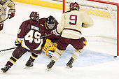 - The visiting University of Minnesota Duluth Bulldogs defeated the Boston College Eagles 3-2 on Thursday, October 25, 2012, at Kelley Rink in Conte Forum in Chestnut Hill, Massachusetts.