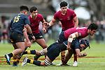 Auckland 1st XV Rugby A1 Semi Final, Kings College v Auckland Grammar, Kings College, Auckland, Saturday 17 August 2019. Photo: Simon Watts/www.bwmedia.co.nz