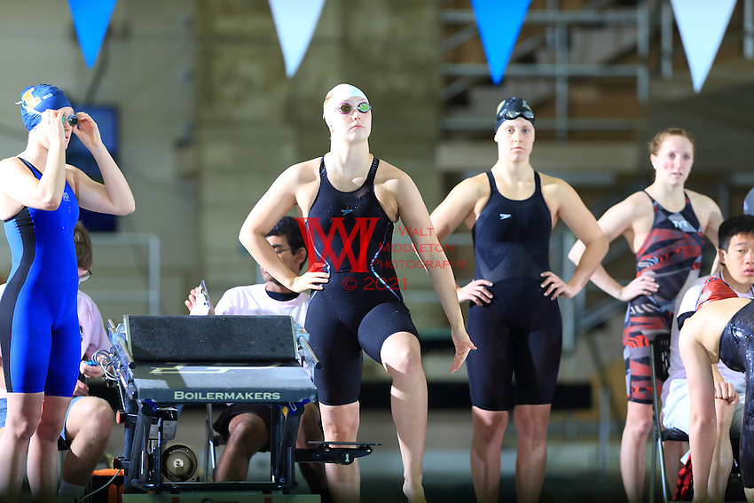 The University of Minnesota women's swimming and diving team compete at the 2017 Women's Big Ten Championships at Purdue University. February 18, 2017.<br /> (Photo by Walt Middleton Photography 2017)