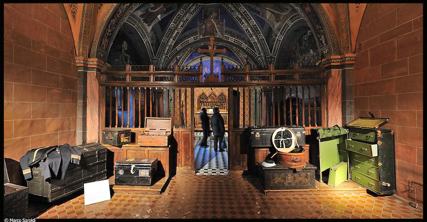 Borgo Medievale. Immagine appartenente al progetto fotografico Vita da Museo di Marco Saroldi.