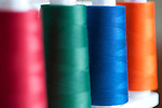 Spools of Thread on Serger