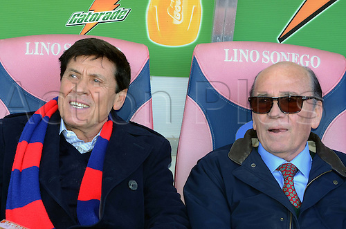 Gianni Morandi,  MARCH 6, 2011 - Football : Singer and Honorary President, Gianni Morandi during the Italian  Series A  match between Bologna 2-2 Cagliari at Renato Dall'Ara Stadium in Bologna, Italy.