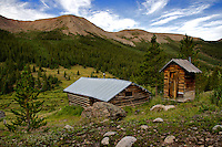 At 10,900 feet near the top of the Roaring Fork Valley east of Aspen, you'll find the ghost town of Independence. Think gold strike in on July 4, 1879 (thus the name), miners, boom and bust, lightening and avalanches, callused hands, gun play, whiskey and... I could go on. As I walked among these weathered structures on the national historic register, I wondering about what life was like for those who settled here, died here, struck it rich; and those who went bust and moved on to seek their fortune at the next strike. August 2013. (c) Charlie Lansche/C.M. Lansche Images