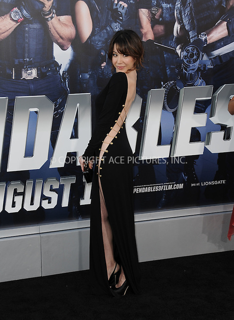 ACEPIXS.COM<br /> <br /> August 11 2014, LA<br /> <br /> Katherine Castro arriving at the premiere of  'The Expendables 3' at the TCL Chinese Theatre on August 11, 2014 in Hollywood, California.<br /> <br /> <br /> By Line: Peter West/ACE Pictures<br /> <br /> ACE Pictures, Inc.<br /> www.acepixs.com<br /> Email: info@acepixs.com<br /> Tel: 646 769 0430