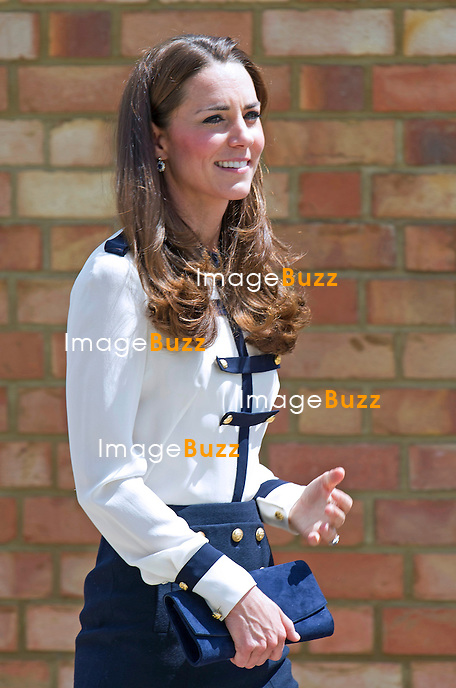 KATE, DUCHESS OF CAMBRIDGE VISITS BLETCHLEY PARK<br /> The Duchess of Cambridge visited Bletchley Park to mark the completion of the year-long restoration project, which has restored the site to its World War II appearance. During the visit, Her Royal Highness met WWII codebreaker veterans who worked at the Government Code and Cypher School during WWII, where encrypted messages sent by the Navy, Army and Air Forces of Germany and its allies were decrypted, translated and analysed for vital intelligence.<br /> She also visited a hut in which her Grandmother worked.<br /> United Kingdom, Milton Keynes, June 18, 2014.