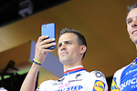 Zdenek Stybar (CZE) Quick-Step Floors team on stage at the Team Presentation in Burgplatz Dusseldorf before the 104th edition of the Tour de France 2017, Dusseldorf, Germany. 29th June 2017.<br /> Picture: Eoin Clarke | Cyclefile<br /> <br /> <br /> All photos usage must carry mandatory copyright credit (&copy; Cyclefile | Eoin Clarke)