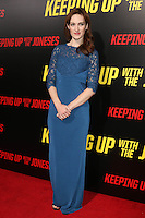 """LOS ANGELES, CA - OCTOBER 8: Kristen Rakes at the """"Keeping Up with the Joneses"""" Red Carpet Event at Twentieth Century Fox Studios in Los Angeles, California on October 8, 2016. Credit: David Edwards/MediaPunch"""
