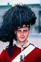 78th Highlanders, Halifax Citadel National historic site, Halifax, Nova Scotia, Canada