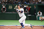 Nobuhiro Matsuda (JPN), <br /> MARCH 15, 2017 - WBC : <br /> 2017 World Baseball Classic <br /> Second Round Pool E Game <br /> between Japan - Israel <br /> at Tokyo Dome in Tokyo, Japan. <br /> (Photo by YUTAKA/AFLO SPORT)