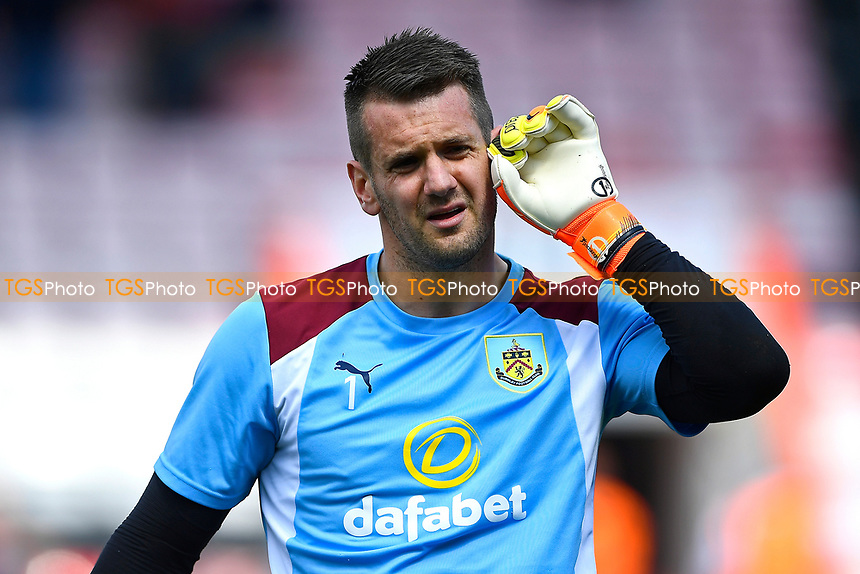 Burnley keeper Thomas Heaton  during AFC Bournemouth vs Burnley, Premier League Football at the Vitality Stadium on 13th May 2017