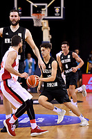 New Zealand Tall Blacks&rsquo; Kruz Perrott-Hunt in action during the FIBA World Cup Basketball Qualifier - NZ Tall Blacks v Syria at TSB Bank Arena, Wellington, New Zealand on Sunday 2 2018. <br /> Photo by Masanori Udagawa. <br /> www.photowellington.photoshelter.com