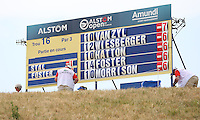 Jaco Van Zyl (RSA) heads the leaderboard again during Round Three of the 2015 Alstom Open de France, played at Le Golf National, Saint-Quentin-En-Yvelines, Paris, France. /04/07/2015/. Picture: Golffile | David Lloyd<br /> <br /> All photos usage must carry mandatory copyright credit (© Golffile | David Lloyd)