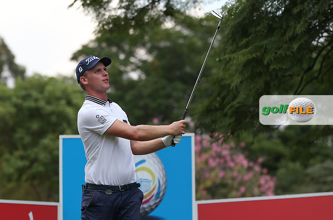 Morten Ørum Madsen (DEN) from the 14th during Round Two of the Tshwane Open 2015 at the Pretoria Country Club, Waterkloof, Pretoria, South Africa. Picture:  David Lloyd / www.golffile.ie. 13/03/2015