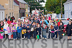 HUNDREDS: Hundreds of musicians who attended the causeway Fleadh Ceoil Parade on Thursday evening.......