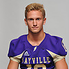 Brock Murtha of Sayville poses for a portrait during Newsday's Top 100 Varsity Football Players photo shoot at company headquarters in Melville on Monday, Aug. 20, 2018.