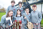 FESTIVAL: Students of the Intermediate School, Killorglin preparing for the forthcoming Killorglin Arts Festival at the school this weekend, front l-r: Aisling Sugrue, Roisin Cronin, Chris Galvin, Laura O'Sullivan. Back l-r: Conor Prendeville and Darren Curtayne.   Copyright Kerry's Eye 2008