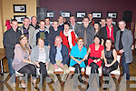 John Kelliher Fossa seated centre celebrated his 50th birthday with his family and friends in the Valley Hotel Fossa on Friday night
