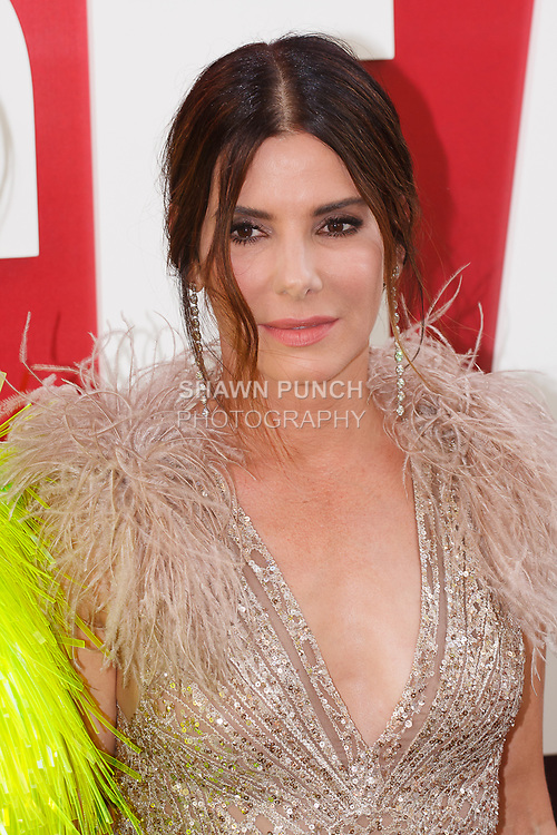Sandra Bullock arrives at the World Premiere of Ocean's 8 at Alice Tully Hall in New York City, on June 5, 2018.