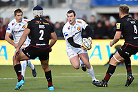 Ian Whitten of Exeter Chiefs in possession. Aviva Premiership match, between Saracens and Exeter Chiefs on November 26, 2017 at Allianz Park in London, England. Photo by: Patrick Khachfe / JMP