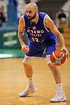 Basketball Champions League 2017/18 - Previus.<br /> Divina Seguros Joventut vs Dinamo Tbilisi: 86-66.<br /> Levan Patsatsia.