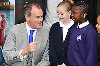 Hugh Bonneville at the &quot;Paddington's Pop-Up London&quot; launch, London, UK. <br /> 19 October  2017<br /> Picture: Steve Vas/Featureflash/SilverHub 0208 004 5359 sales@silverhubmedia.com